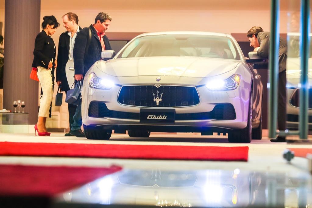 FOTO: Maserati Ghibli a fost lansat in Romania si a devenit cel mai accesibil model al marcii italiene