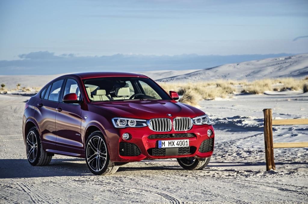 BMW X4 va fi lansat in Romania in vara si porneste de la 46.996 Euro cu TVA