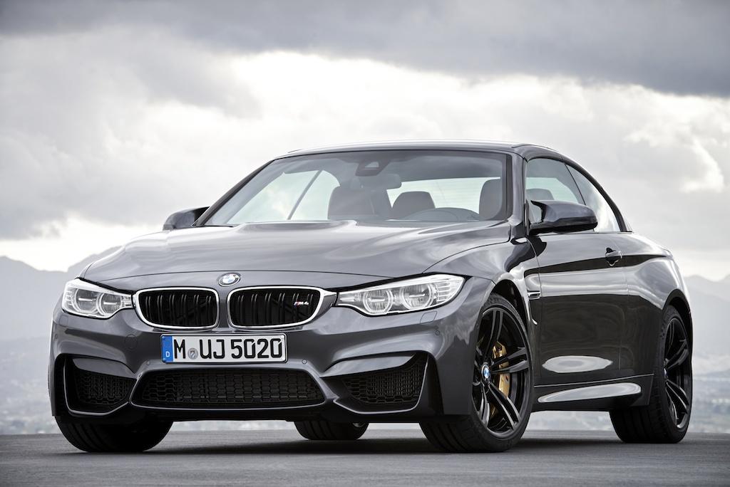 FOTO: BMW M4 Cabriolet, gata de lansare