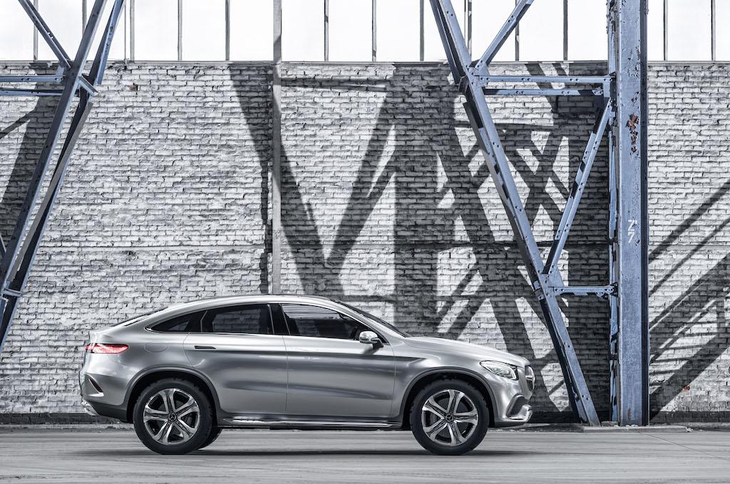 VIDEO, FOTO: Mercedes-Benz Concept Coupe SUV dezvaluie un viitor rival pentru BMW X6