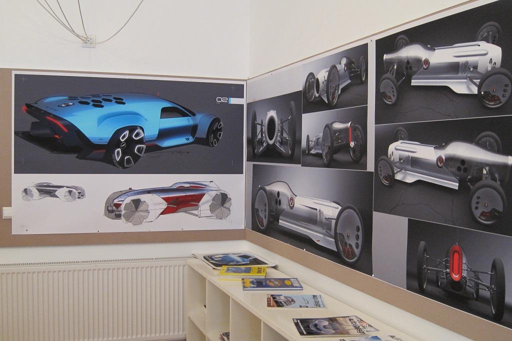 FOTO: Ambasada creativa – Cum arata si ce se intampla in locul unde sunt desenate masinile Dacia ale viitorului