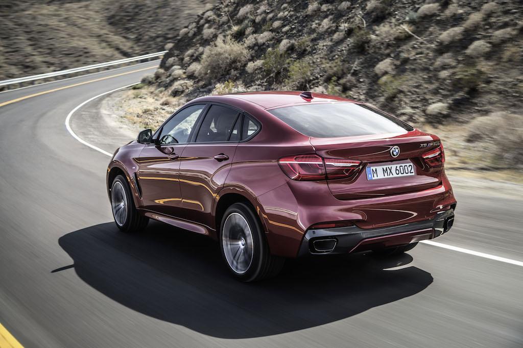 Noul BMW X6 porneste de la 70.184 euro cu TVA in Romania