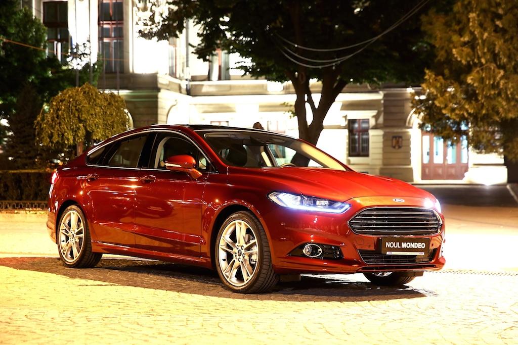UPDATE FOTO: Ford Craiova a inceput sa exporte motoare in Spania pentru noul Mondeo. Masina, prezentata in avanpremiera la Raliul Iasului