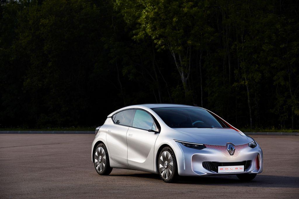 Renault EOLAB concept (sursa - Renault)