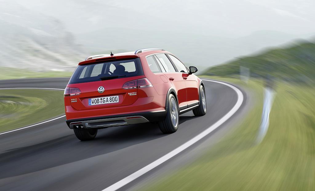Volkswagen Golf Alltrack (sursa - Volkswagen)