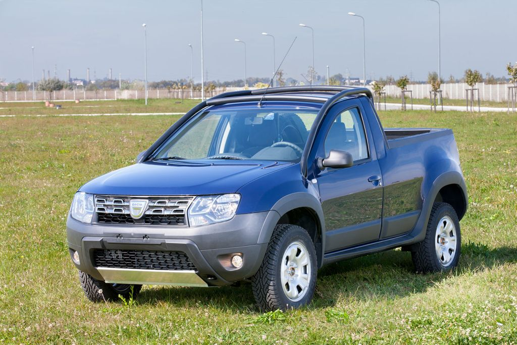 Dacia Duster Pick-up (sursa - Dacia)