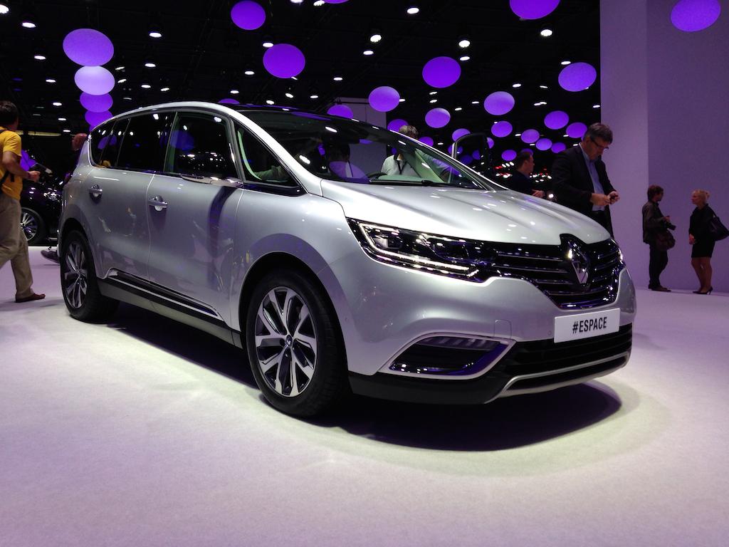 Renault Espace la Salonul Auto de la Paris (sursa - 0-100.ro)