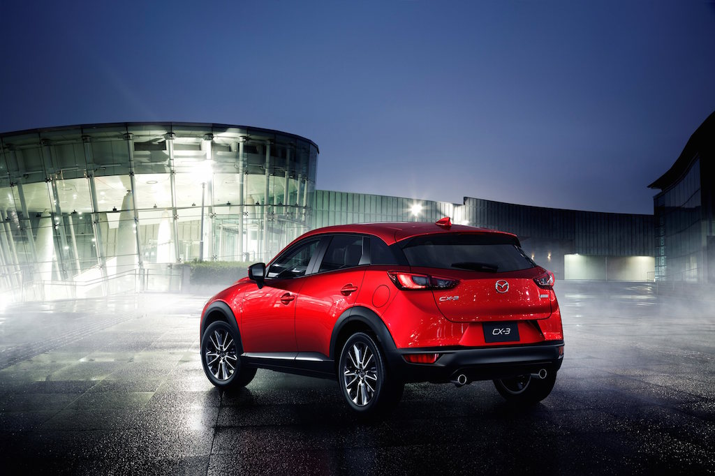 VIDEO, FOTO: Mazda CX-3 se prezinta, alternativa la Opel Mokka si Nissan Juke