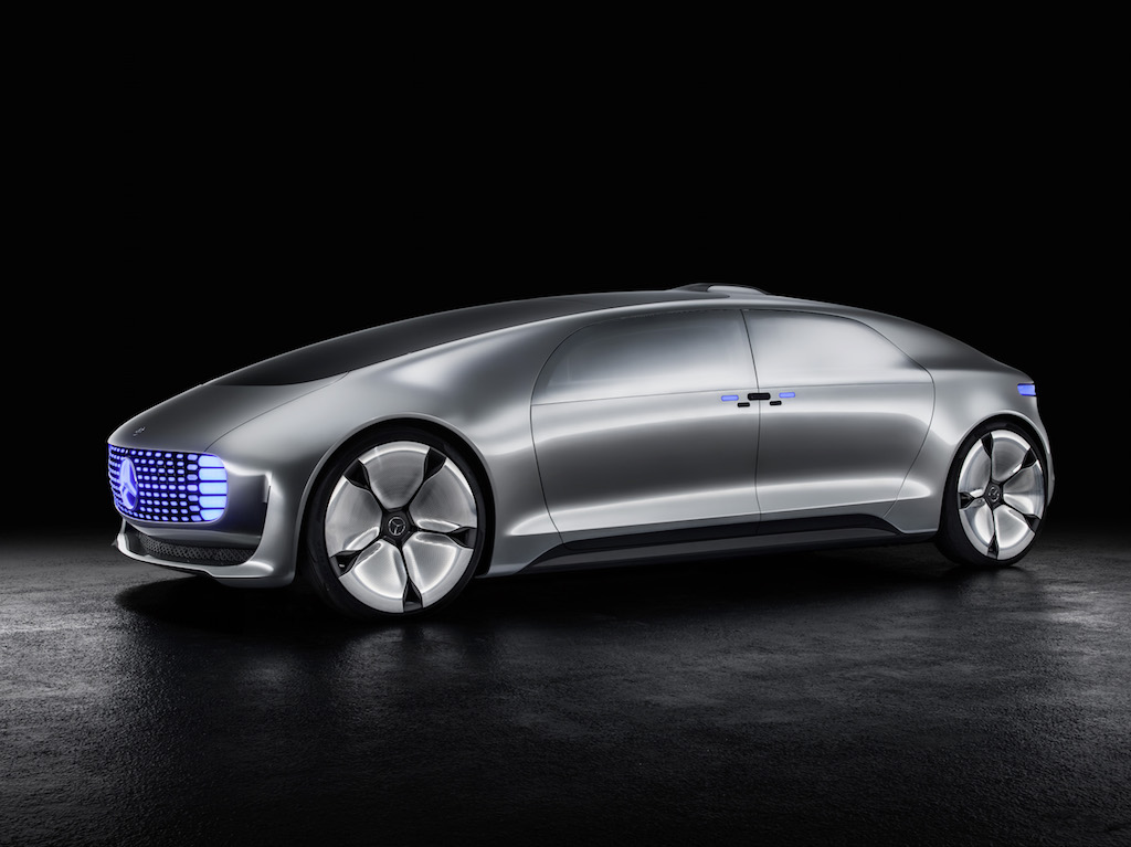 Mercedes-Benz F015 Luxury in Motion (sursa - Daimler)