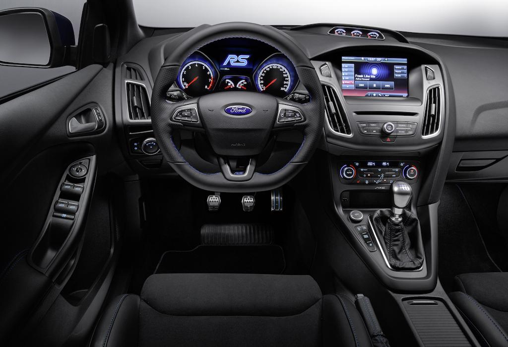 VIDEO, FOTO: Noul Ford Focus RS se prezinta. Are tractiune integrala si motor preluat de la Mustang