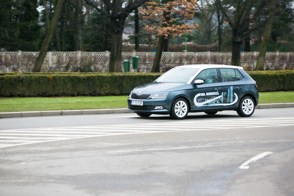 FOTO: A treia generatie Skoda Fabia a fost lansata in Romania. Porneste de la 10.420 euro cu TVA