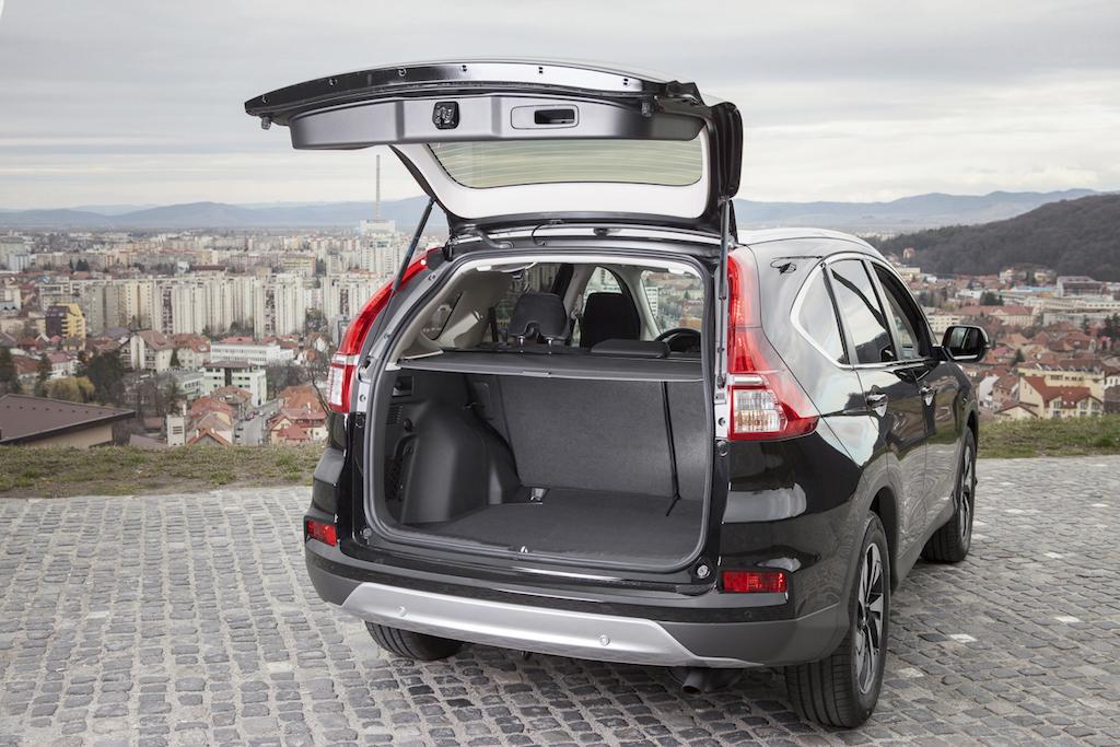 Romania Vrea Autostrazi Hd: FOTO: Honda CR-V Facelift, Cu Motor Diesel Biturbo, A Fost