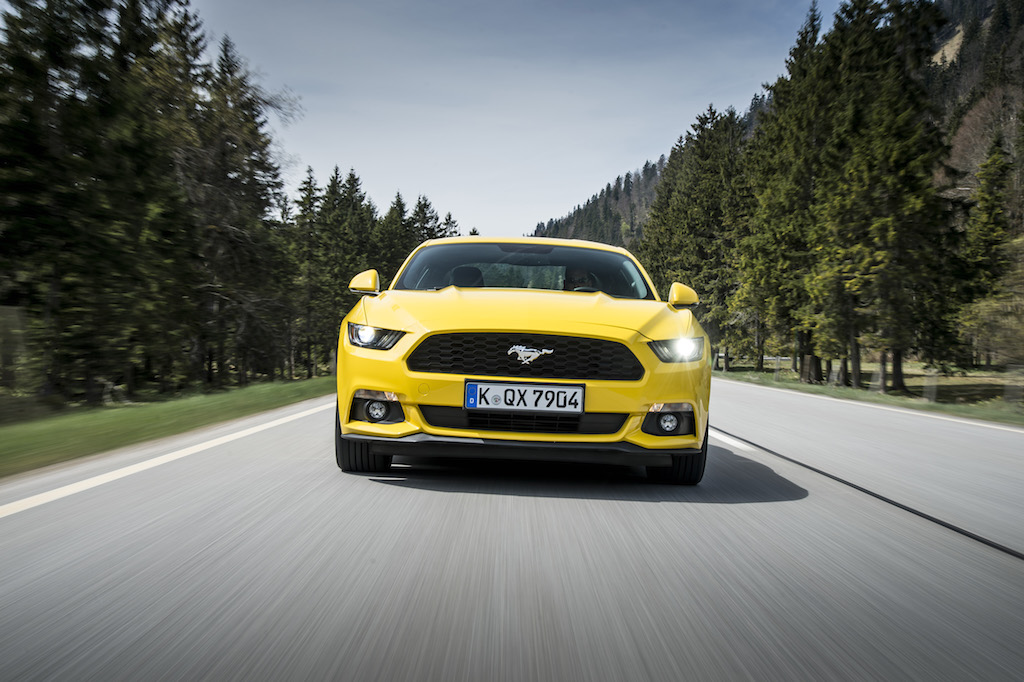 Ford Mustang (sursa - Ford)