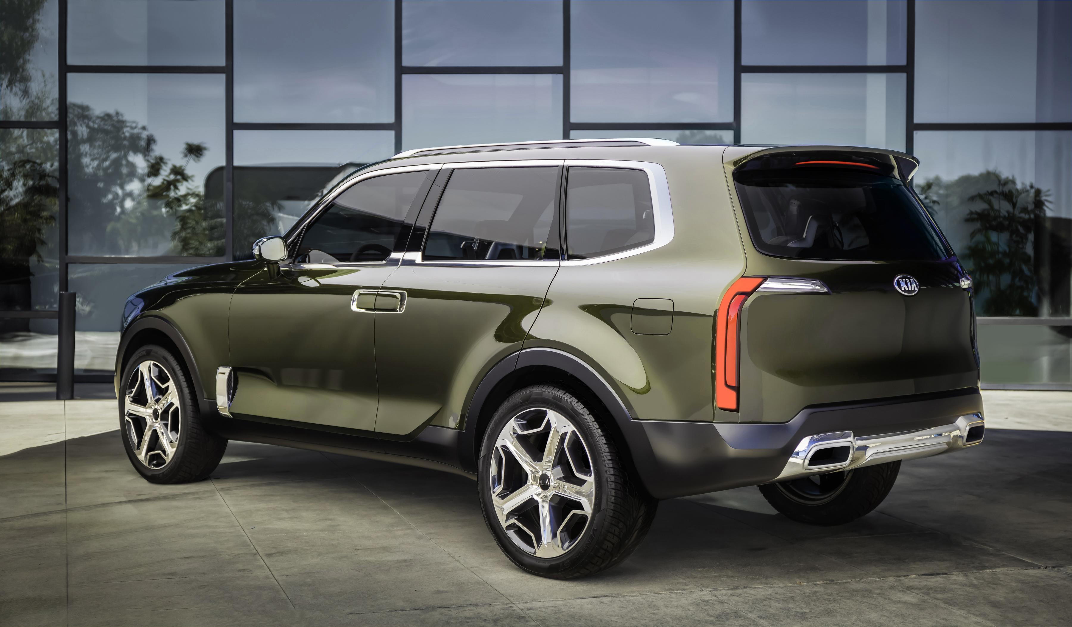 FOTO: Kia Telluride anunta un nou SUV coreean de mari dimensiuni