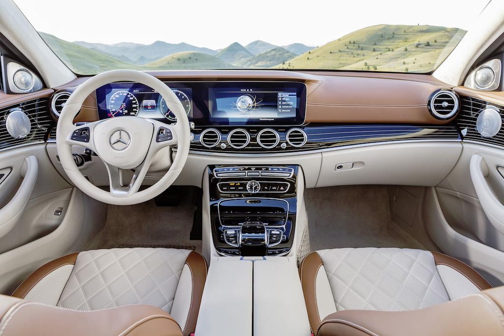 Interior Designo pe Mercedes-Benz Clasa E (sursa - Mercedes-Benz)