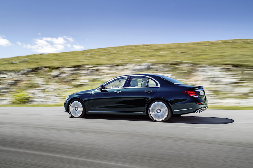 Mercedes-Benz Clasa E (sursa - Mercedes-Benz)
