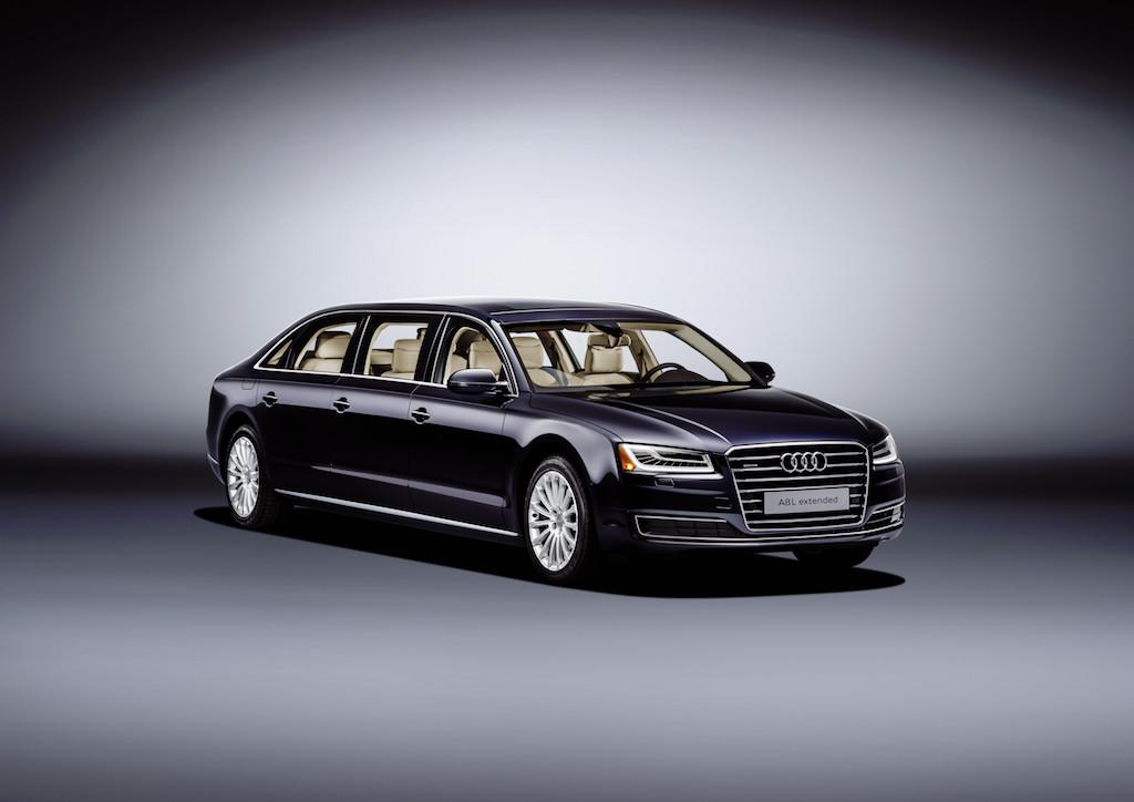 Audi A8 L extended (sursa - Audi)